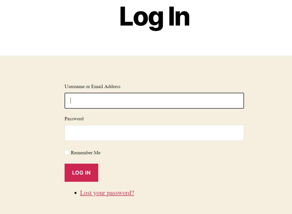 change WordPress login page URL - new login page URL