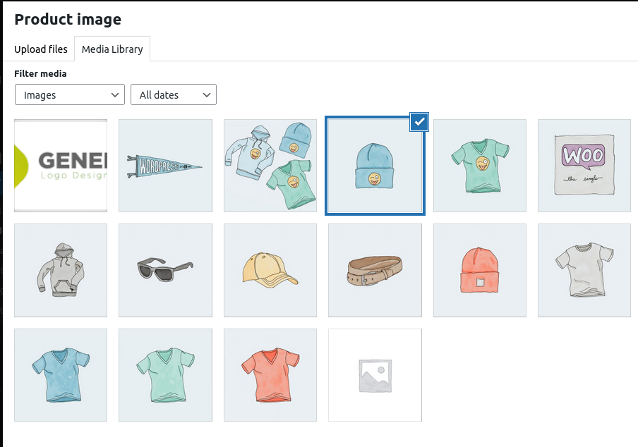 How to add images to a product in WooCommerce
