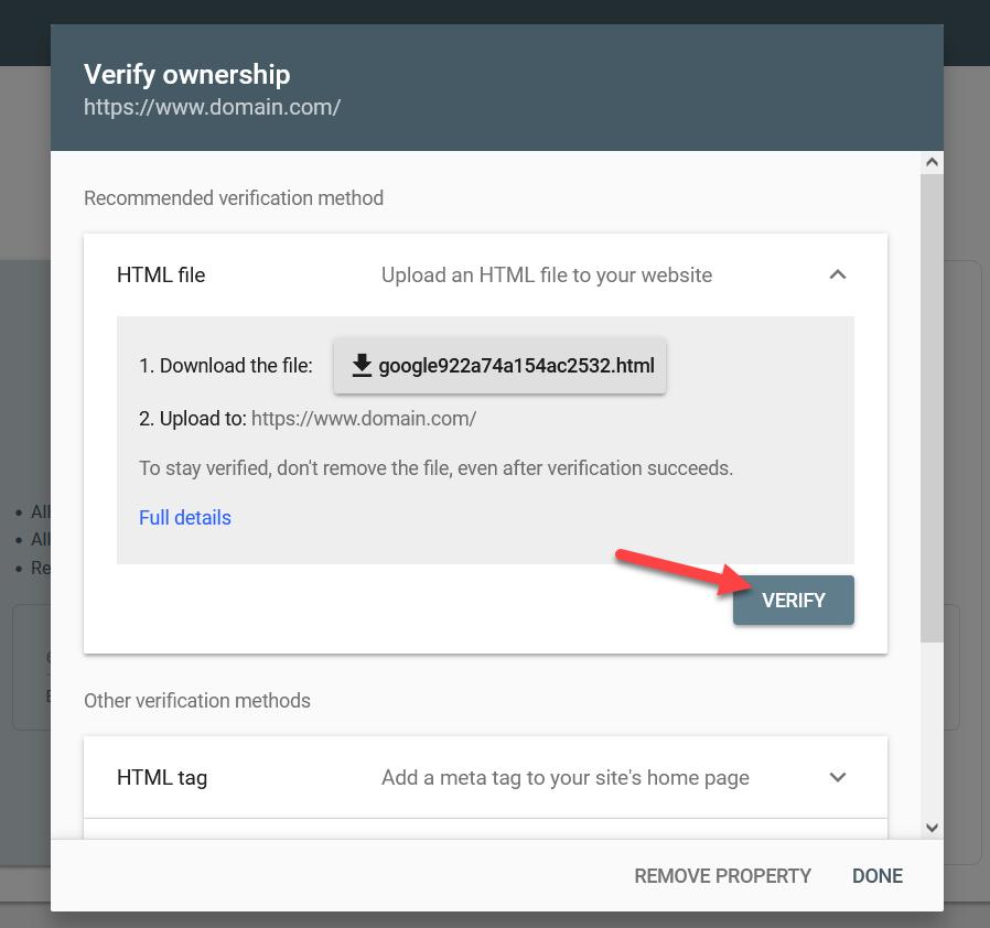 verify file upload