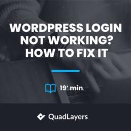 wordpress login not working