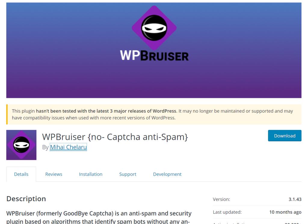 wpbruiser wordpress plugin
