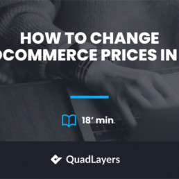 How to Change WooCommerce Prices in Bulk