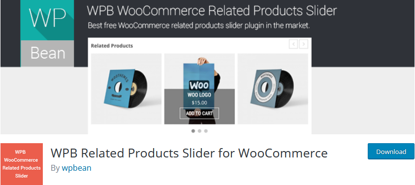 customize woocommerce related products - WPB related