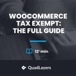 woocommerce tax exempt