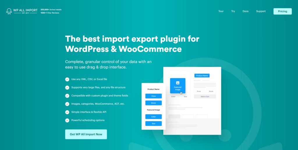 wp all import woocommerce order export