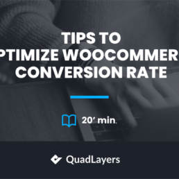 optimize woocommerce conversion rate - featured image