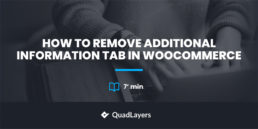 remove additional information tab in woocommerce